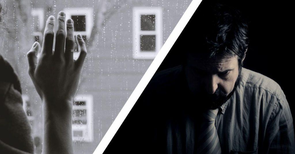 depresia la barbati vs femei